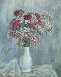 Sweet William. 2005. Oil on canvas. 40 x 50 cm.