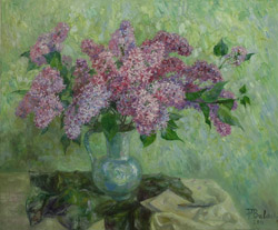 Lilac. 2011. Oil on canvas. 60 x 50 cm.