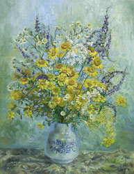 Sunny bouquet. 2005. Oil on canvas. 35 x 45 cm. Private collection.