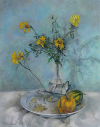 Autumn still life. 2015. Pastel on paper. 40 x 50 cm.